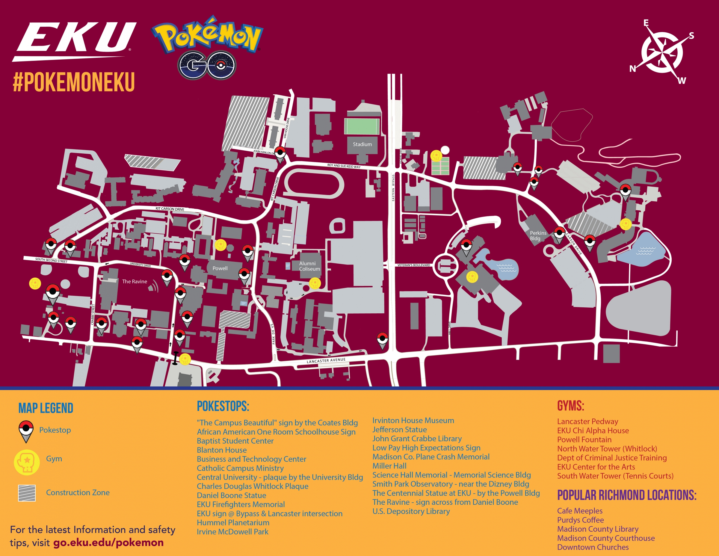 Pokémon Go @ EKU | Communications & Brand Management | Eastern