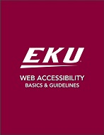 EKU Web Accessibility Guide